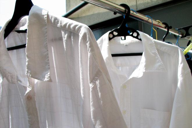 洗濯ワイシャツ