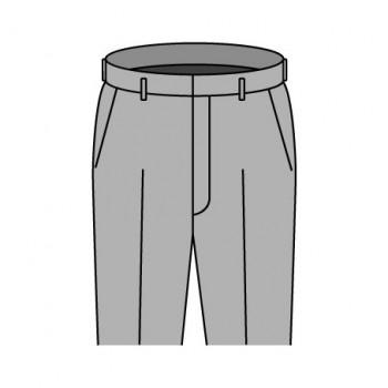 ノータック パンツデザイン